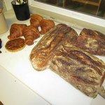 fresh artisan breads w/ jam