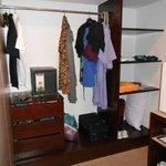 In room safe, cupboard, storage