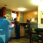 a view of the kitchenette