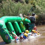 Whitewater tip-over recovery training