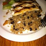 Mahi Mahi with black beans & rice