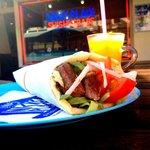 Beef Souvlaki, The Greek kebab with fresh BBQ'd Beef.