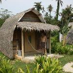 typical beach hut