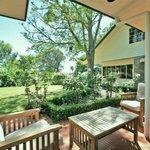 Quiet restful gardens at Havelock House