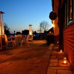 Terrace with Tealights