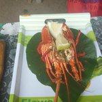 Delicious lobster.