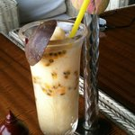 Passion fruit smoothie - delicious!