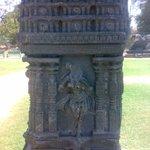 Piller of Kirti torana of Kakatiya Dynasty  Warangal