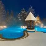 Stammhaus Freibad Winter