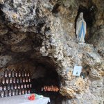 Lourdes Grotto re-created