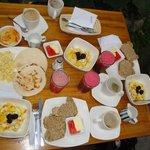 verschiedene Frühstücke