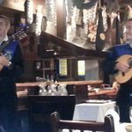 the roaming Spanish musicians