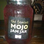 Yummy Jam Jar drink