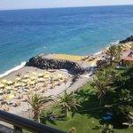 vista mare e spiaggia privata