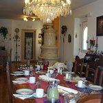 Vista della sala colazioni