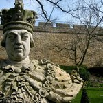 King George III in the grounds