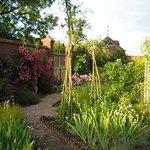 herb garden at staunton house
