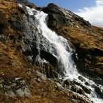 Waterfall on S rd of Mull