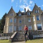 Un castillo de ensueño en medio de Escocia