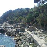 Bay between Lloret de Mar and Lloret