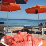 пляж в 7 минутах от отеля