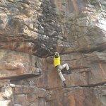 A 5.11 climb