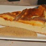 Dessert : tarte à gros bout