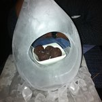 Ice Sculpture with truffles