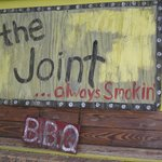 The Joint for BBQ....not on hotel property