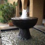 Fountains everywhere