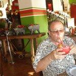 The margaritas were wonderful!