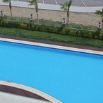 Crown Plaza Balcony view-Swimming Pool