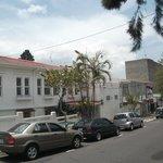façade, vue de la rue