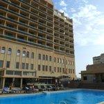 hôtel côté piscine