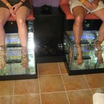 Care for a fish pedicure??? Cheaper Spa Fun