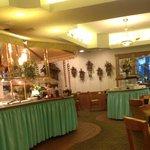 Breakfast buffet at Alpine Restaurant, Inn of the Hills, Kerrville TX