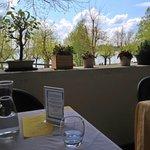 Vista dalla terrazza del ristorante