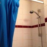 tendina in doccia