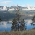 View from our walk looking at Okanagan Lake