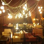 pleasant decor inside - worthy of at least 3stara