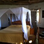 sleeping area of the villa style bedrooms