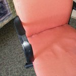 broken desk chair