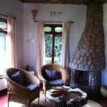 your own private salon in each villa