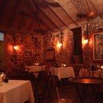 Sugar Mill dining room-very romantic!