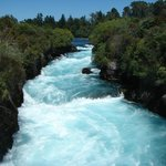 Beautiful Huka blue water