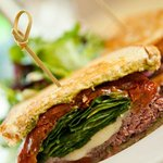 Pesto Roast Beef Sandwich