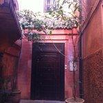 entrance- front door