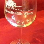Wine glass from Kerrville Hills Winery