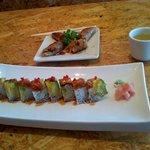 Samurai steak and sushi照片