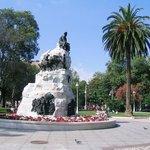 One of Santander's lovely parks.